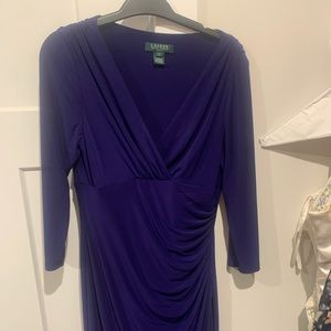 Purple Ralph Lauren dress